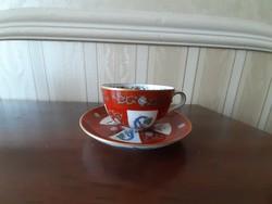 Herendi Gödöllő mintás teáscsésze aljával