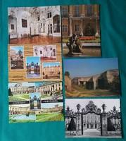 Fertőrákosi Kőfejtő,Fertődi Kastély képeslapokon
