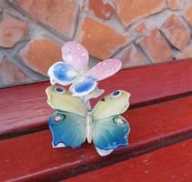 Gyönyörű Ens páros pillangó,nipp   Germany Német Gyűjtői darab
