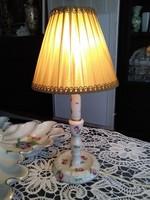 Herendi bécsi rózsás éjjeli lámpa kiváló jelzéssel 1940-ből.