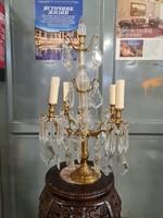 Francia stílusú asztali lámpa-kandelláber
