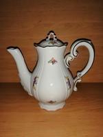 Zsolnay porcelán barokk kávé kiöntő (/K)