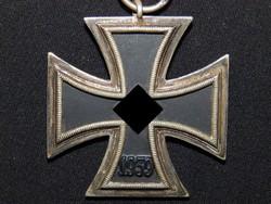 Német 2. VH Vaskereszt Iron Cross / Eisernes Kreuz EK 2 Eisernes Kreuz Paul Meybauer  jelölt  7
