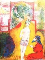 M. Chagall: Qamar az-Zamán története I. , cinkográfia
