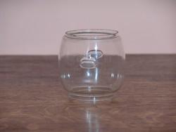 Petrleum viharlámpa üveg