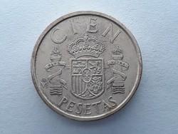 Spanyolország 100 Pezeta 1988 - Spanyol 100 Pesetas 1988 külföldi pénz, érme