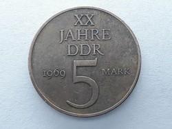 Németország 5 Márka 1969 - Német 5 Mark 1969 A külföldi pénz, érme