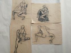 A titokzatos mappa - 24 kép, együtt, egy hagyatékból, 1 hetes aukción.