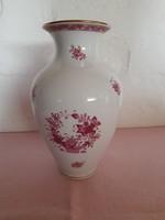 Herendi indiai kosármintás váza
