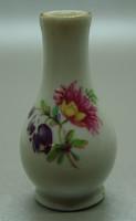 B355 Hollóházi ibolya váza - hibátlan szép darab