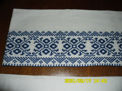 2 db Kék keresztszemes vitrázs