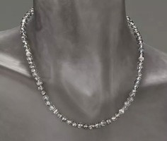 Mystik hegyikristály drágaköves   sterling ezüst /925/ nyakék -új