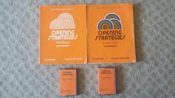 Opening Stategies (angol nyelvkönyv, munkafüzet, kazetták)