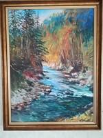 Erfán Ferenc gyönyörű festménye, vásznon