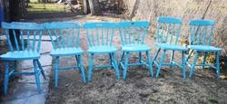 Fa Antikolt székek