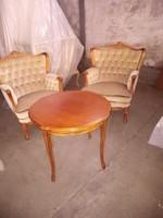 Warrings 2 fotel kis dohányzóasztallal