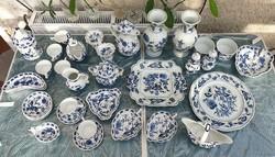 Blue Danube hagymamintás porcelán készlet