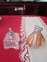 Art deco vintage parfümös üvegek