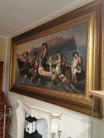 Hatalmas méretű barokk  festmény