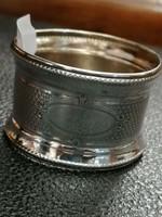 Ezüst szalvétagyűrű  kerék forma .800 - ás finomság. Diana.
