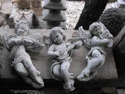 Antik  régi Angyal  Műkő Szobor Kertbe Kápolna vagy sír ra  15-20cm