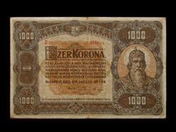 1000  KORONA - AZ 1920-AS NAGYMÉRETŰEK KÖZÜL!