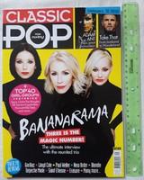 Classic Pop magazin #29 2017/6 Bananarama Cure Smiths Take That Blondie Björk Adam Ant Depeche Mode