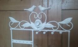 Èkszertartó  madár- és virágmotìvummal, fémből - antik hatású