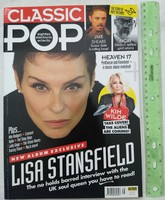 Classic Pop magazin #38 2018/3 Lisa Stansfield Mute Records Kim Wilde Jake Shears Moby Heaven 17 Sto