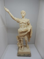 Julius Ceasar szobor.Alabástrom szobor.