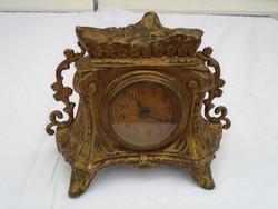 Gyönyörű antik réz óra
