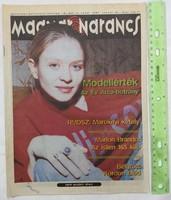 Magyar Narancs újság/magazin 1997/3 Néray Katalin RMDSZ KDNP Év arca Belgrád Mike Leigh Andersen