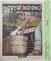 Magyar Narancs újság / magazin 1996/39 Demszky Hongkong Domokos Mátyás Jelcin Neneh Cherry