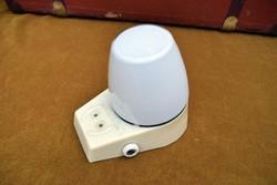 Retro falikar , fali kapcsolós , lámpatest , borotva konnektor