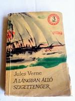 JULES VERNE: A LÁNGBAN ÁLLÓSZIGETTENGER-1961.