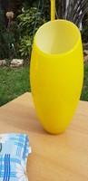 Olasz design lámpabúra vastag üvegből nagyméretű