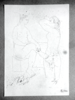 Picasso lithography with certification - a real curiosity !!!