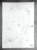 Picasso litográfiája certifikációval - igazi kuriózum!!!