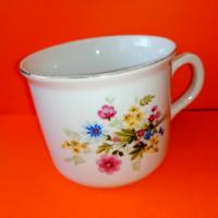 Nagy méretű Zsolnay retró csésze