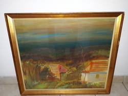 Id.KELETI JENŐ(1920-1998):eredeti festménye