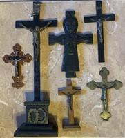 6 db egyéb stílusú kereszt (XIX. század elejétől a XX. század közepéig)