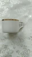 Zsolnay  aranycsikos kávés csésze