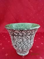 Gorka Géza kerámia váza, magassága 11 cm.