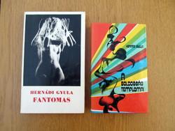 Fantomas / A boldogság templomai : Hernádi Gyula