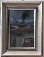Réth Alfréd (1884-1966), Kikőtő, 1956, olaj vászon