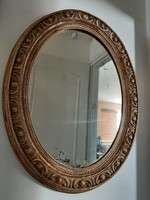Hatalmas bider antik tükör 97 x 77 cm
