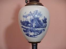 Kézzel festett royal bonn petróleum lámpa