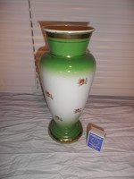 Ritka zománcos fém váza