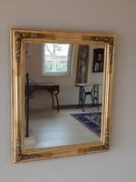 Biedermeier tükör aranyozott.