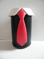 Karl Lagerfeld tervezte design Berendsohn borhűtő, pezsgőhűtő doboz dugóhúzóval